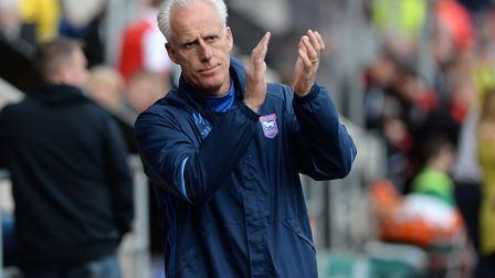 Ipswich Town manager Mick McCarthy. Photo: Pagepix