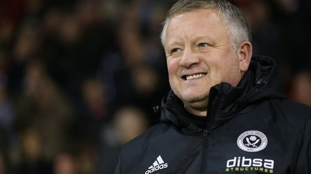 Sheffield United manager Chris Wilder has overseen two 1-0 wins against Town this season. Photo: PA