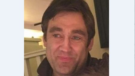 Paul Moore. 44, has been missing since February 6. Picture: SUFFOLK CONSTABULARY