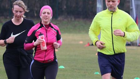 Runners in action at Saturday's Great Cornard parkrun. Pictures: GREAT CORNARD PARKRUN FACEBOOK PAGE