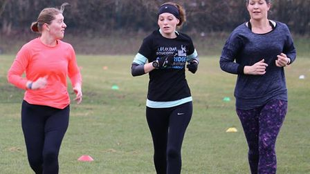 It's all smiles at Saturday's 213th staging of the Great Cornard parkrun