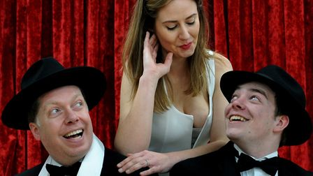 The Irving Stage Company's production of The Producers. Picture: ANDY ABBOTT