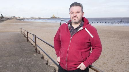 Tod Sullivan is the new mental health ambassador for Lowestoft. Picture: Nick Butcher