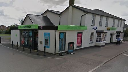 The Co-op in Canham Road, Great Cornard, was among those burgled. Picture: GOOGLE