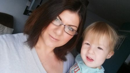 Christina Lofthouse with Sophia. Picture: SUPPLIED BY FAMILY