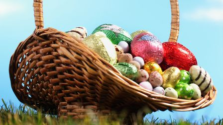 Easter eggs are now available for children and adults following special diets. Picture: MARTIN POOL