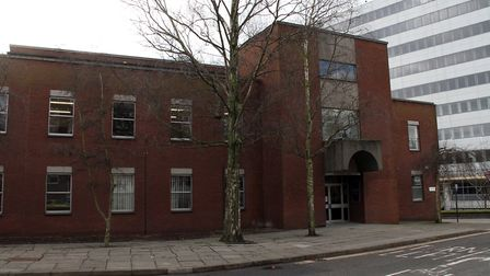Magistrates' court in Ipswich. Picture: SIMON PARKER