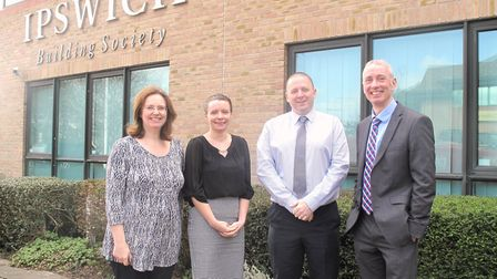 Louise Bunce, Kate Ley, Jim Overy and Travor Slater, who have been appointed to senior management po