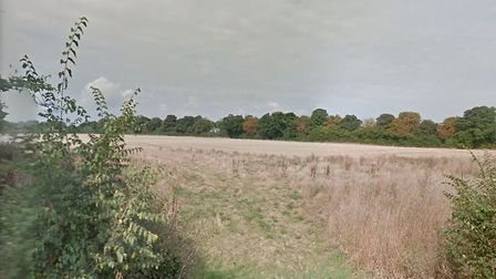 Land in Yarmouth Road, Melton, where outline plans had been lodged to create 138 homes, 60-bed care
