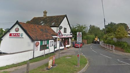 The robbery happened at a store in Barningham, near the Norfolk border. Picture: GOOGLE