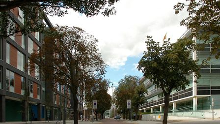 Ipswich Council at Grafton House (left) and Suffolk County Council at Endeavour House (right) have d