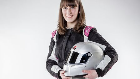 Ipswich racing driver Lydia Walmsley will be driving in the Mini Challenge this season. Picture: MOR