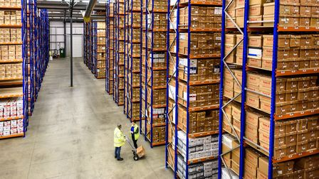 Box-it East 's storage facility near Bury St Edmunds. Picture: Andrew David Photography