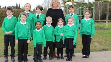 Karen Sheargold is aiming for success at Burton End Primary Academy in Haverhill. Picture: GOODERHAM