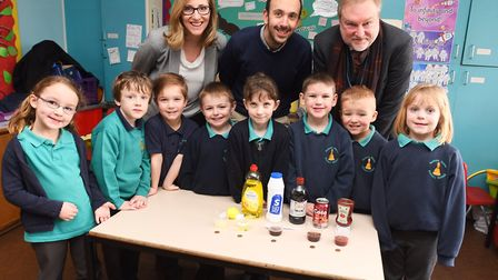 Sexton's Manor Primary School partaking in the new Schools Science Project. Picture: GREGG BROWN
