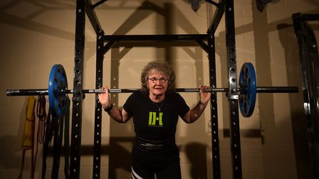 Powerlifter Caroline Calver has qualified for a national event in her first competition, at the age