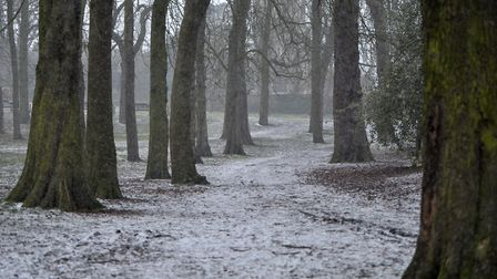 With heavy snow forecast, it was expected that a number of schools would be closed. Picture: SARAH