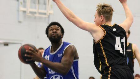 Ryan Wilson led Ipswich with 22 points in their win over Essex Leopards. Picture: NICK WINTER