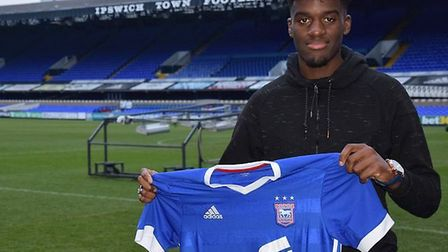 Chris Goteni saw red for Town. Picture: ITFC