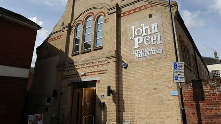 The John Peel Centre in Stowmarket. Picture: PHIL MORLEY