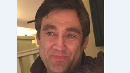 Paul Moore. 43, has been missing since February 6. Picture: CONTRIBUTED BY SUFFOLK POLICE