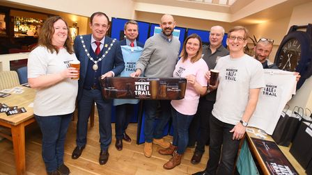 The Ale Trail has been launched at the One Bull. Picture: GREGG BROWN