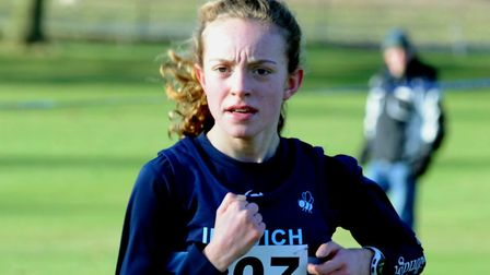 Amy Goddard, who was 211th in the under-13 girls' event last weekend