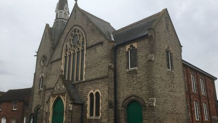 Christ Church United Reformed Church in Sudbury could be developed into a community hub. Picture: CH