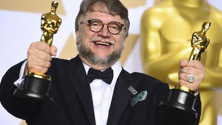 """Guillermo del Toro, winner of the awards for best director and best picture for """"The Shape of Water,"""