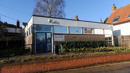 The existing Eye Library is set to be sold with a new library being established in Cross Street. Pic