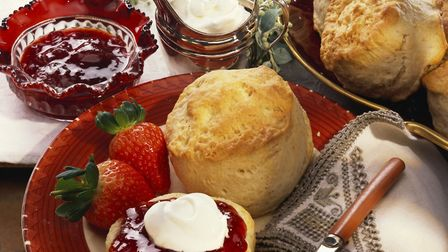 A classic afternoon tea to celebrate Mother's Day. Picture: GETTY IMAGES/ISTOCKPHOTO
