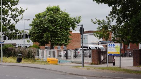 Kesgrave High School, where the maths hub is based. Picture: ARCHANT