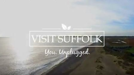Still image from Visit Suffolk's You.Unplugged campaign advert. Picture: VISIT SUFFOLK