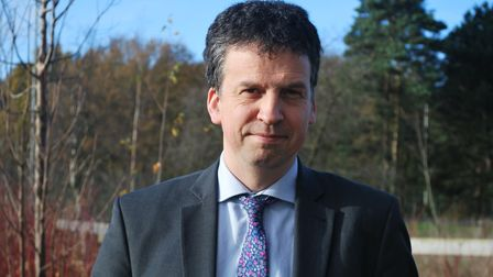 Nigel Youngman, who is stepping down as headteacher of Beccles Free School. Picture: SECKFORD FOUNDA