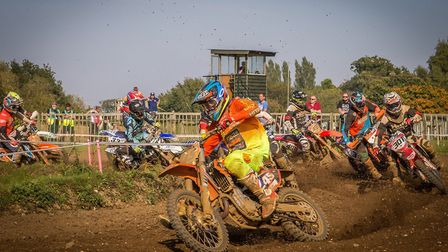 Start of an Experts race at Blaxhall.
