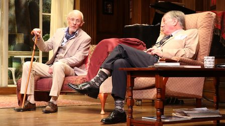 Ronald Harwood's comedy Quartet starring Paul Nicholas and Jeff Rawle is at New Wolsey Theatre, Ipsw