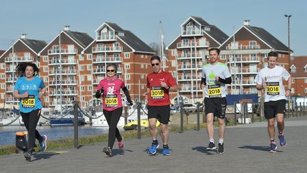 Roughly 3,500 people will take part in the Great East Run this year. Picture: SARAH LUCY BROWN