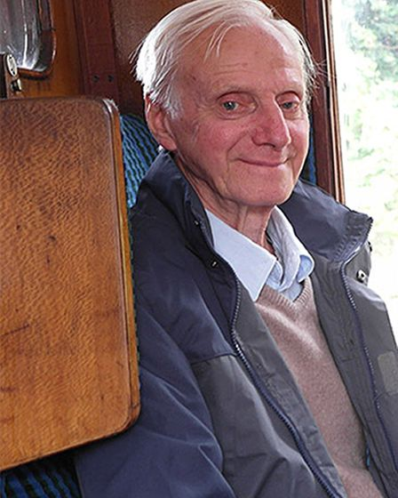 Peter Wrighton, 83, had been walking his two dogs in woodland known as near East Harling in Norfolk