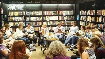 The Ipswich Waterstones book club. Picture: MEG BURROWS