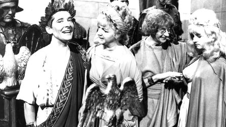 Kenneth Williams in Carry On Cleo. Photo: BFI