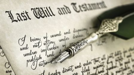 Signing Last Will and Testament. Picture: BRIANAJAGETTY IMAGES/ISTOCKPHOTO