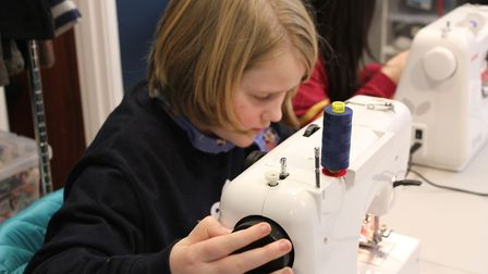 Stitchworks offers sewing lessons to children and young people