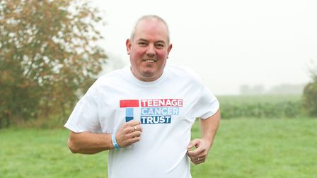 Kevin Cook gears up for his London Marathon challenge in memory of his son Jack. Picture: KEITH MIND