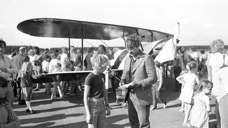 The 1976 Woodbridge Air Show attracted guests of all ages