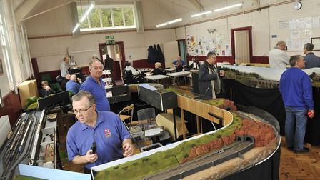 Felixstowe Area N Guage Model Railway Group is hosting its open day on March 24. Pciture: SU ANDERSO