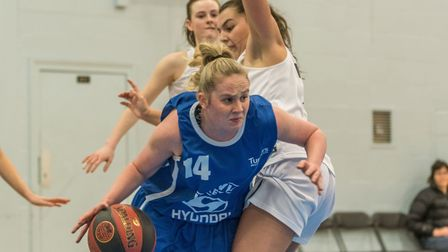 Harriet Welham led Ipswich with 45 points against Nottingham. Picture: PAVEL KRICKA