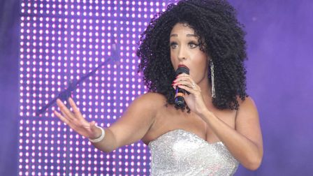 Motown tribute at last year's Nearly Festival in Ipswich. Picture: NIGE BROWN