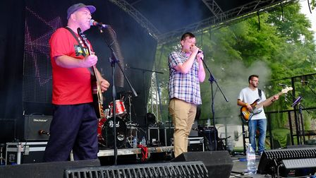 The Kaiser Thiefs play at the 2017 Nearly Festival in Bury St Edmunds. Picture: RICHARD MARSHAM/RMG