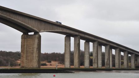 The Orwell Bridge. Picture: SARAH LUCY BROWN