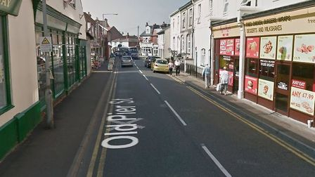 The attempted robbery happened in Old Pier Street, Walton-on-the-Naze. Picture: GOOGLE MAPS